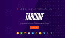 TabConf. A Blockchain Conference of Substance, No ICO Pitches