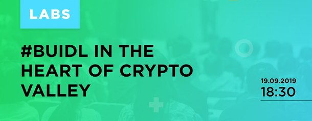 Buidl in the Heart of the Crypto Valley
